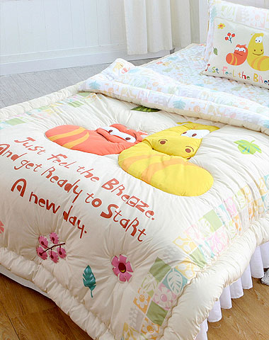 Larva cushion