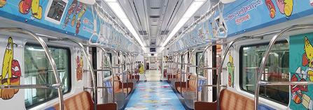 투바앤의 라바와 윙클베어, 테마열차로 달린다