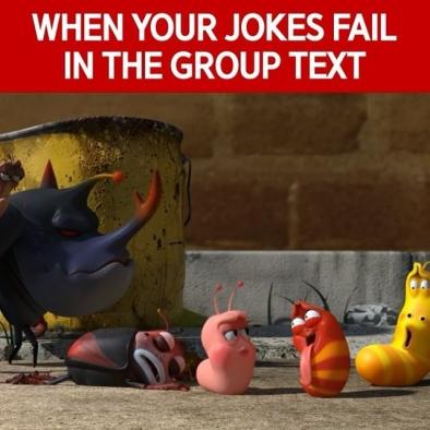 "Err… That ""Awkward Moment""😑 – 💬 갑.분.싸.avi – #fail #joke #larva #red #larvagram #TUBAn #갑분싸 #단톡방 #레드 #애니메이션 #라바 #투바앤"