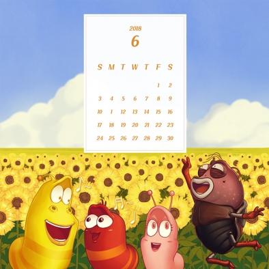 New calendar out for sunny, bright June!🌻 – 태양이 빛나는 6월의 라바 달력!☀ – – iPHONE : https://goo.gl/snxDXw – Android : https://goo.gl/RHab7f – PC : https://goo.gl/tJsMmd – #sun #sunny #background #calendar #june #larva #wallpaper #yellow #red #TUBAn #6월 #애니메이션 #배경화면 #바탕화면 #달력 #월페이퍼 #라바 #투바앤