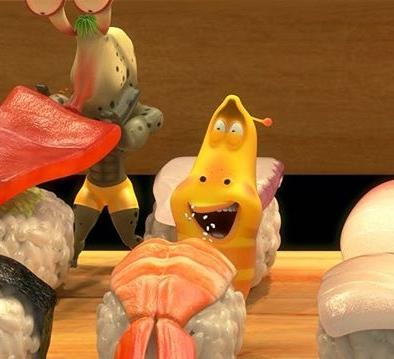 Who wants sushi?? – 어느 것을 먹을까요~ 알아 맞춰 보세요~? – #internationalsushiday #sushi #choice #yummy #japanese #food #anime #animation #comic #comics #larva #kculture #TUBAn #초밥 #먹방 #일식 #선택 #애니메이션 #애니 #만화 #라바 #옐로우 #레드 #라바 #투바앤