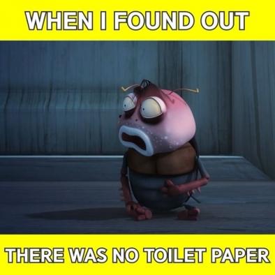 What.. to wipe with..😭 – 이것은 흡사 나라 잃은 기분😱 – #toilet #paper #omg #emergency #brown #comics #meme #memes #memesdaily #larva #kculture #TUBAn #화장실 #휴지 #방귀 #애니메이션 #애니 #만화 #라바 #밈 #짤 #투바앤